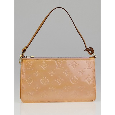 Louis Vuitton Marshmallow Monogram Vernis Lexington Pochette Bag