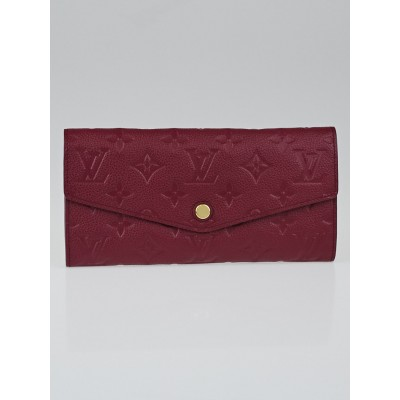 Louis Vuitton Aurore Monogram Empreinte Leather Curieuse Wallet