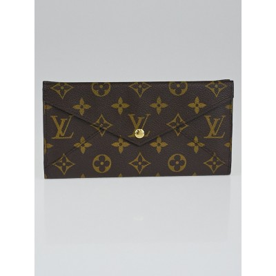 Louis Vuitton Monogram Canvas Long Origami Wallet