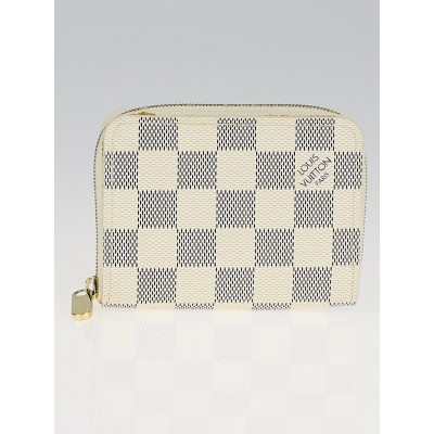 Louis Vuitton Damier Azur Canvas Zippy Coin Purse