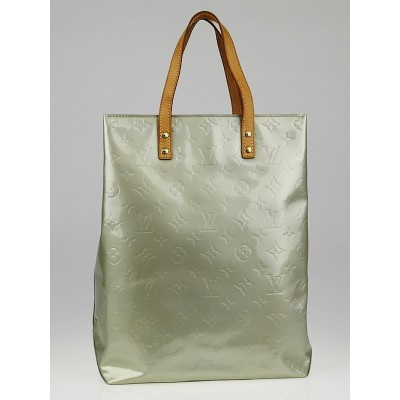 Louis Vuitton Silver Monogram Vernis Reade MM Tote Bag