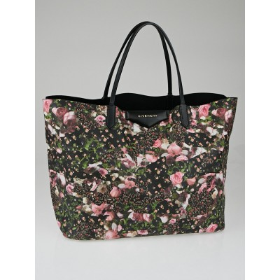 Givenchy Floral-Print Coated Canvas Antigona Large Shopper Tote Bag
