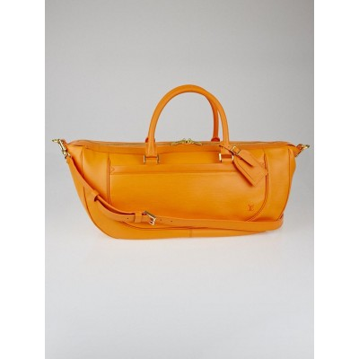 Louis Vuitton Mandarin Epi Leather Dhanura GM Bag