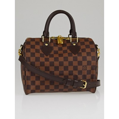 Louis Vuitton Damier Canvas Speedy Bandouliere 25 Bag