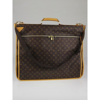 Louis Vuitton Monogram Canvas Garment Carrier Bag - 3 Hangers