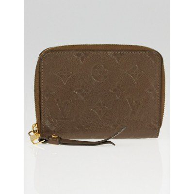Louis Vuitton Ombre Monogram Empreinte Secret Compact Wallet