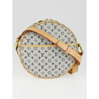 Louis Vuitton Blue Monogram Mini Lin Jeanne GM Messenger Bag