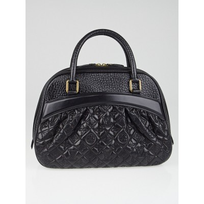 Louis Vuitton Limited Edition Black Monogram Leather Mizi Vienna Bag