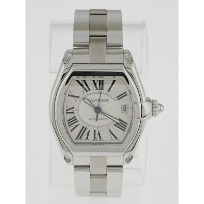 Cartier 39mm Stainless Steel Roadster XL Automatic Watch W62025V3