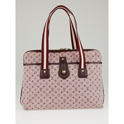 Louis Vuitton Cerise Monogram Mini Lin Mary Kate Sac Bag