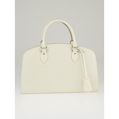 Louis Vuitton Ivory Epi Leather Pont Neuf PM Bag