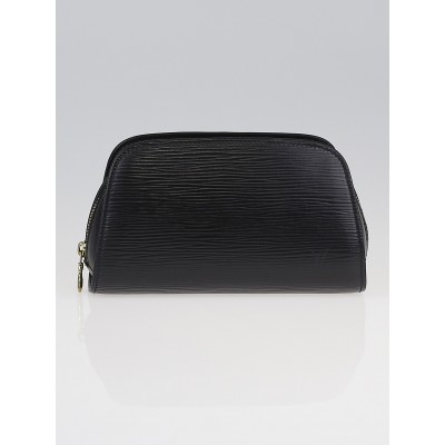 Louis Vuitton Black Epi Leather Dauphine Cosmetic Pouch