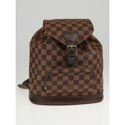 Louis Vuitton Damier Canvas Montsouris MM Backpack Bag