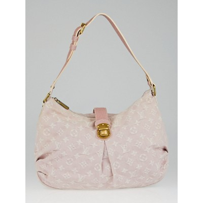 Louis Vuitton Rose Denim Monogram Denim Slightly Bag