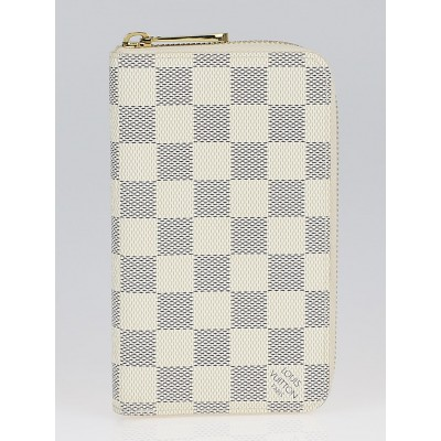 Louis Vuitton Damier Azur Canvas Zippy Compact Wallet