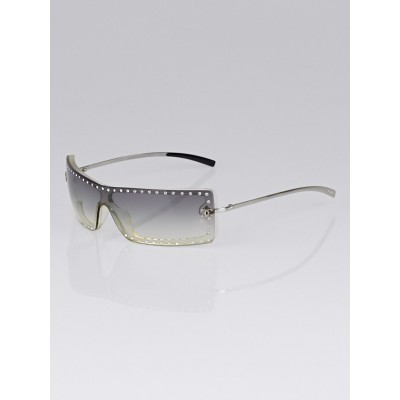 Chanel Gradient Tint Rimless Swarovski Crystal Sunglasses - 5077-B