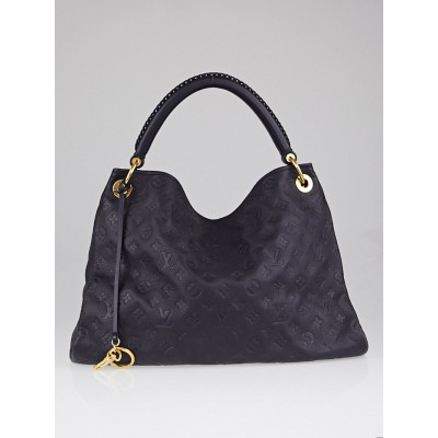 Louis Vuitton Blue Infini Monogram Empreinte Leather Artsy MM Bag