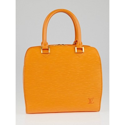 Louis Vuitton Mandarin Epi Leather Pont-Neuf PM Bag