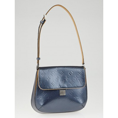 Louis Vuitton Blue Monogram Mat Webster Street Bag