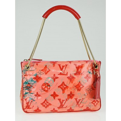 Louis Vuitton Limited Edition Pink Monogram Pochette BonBon Rose Bag