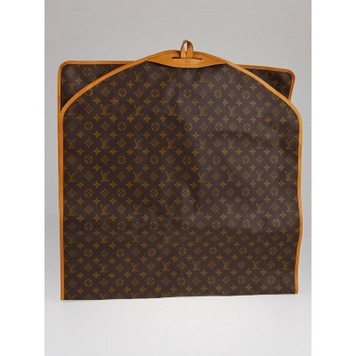 "Louis Vuitton Vintage Monogram Canvas 48"" Garment Cover"