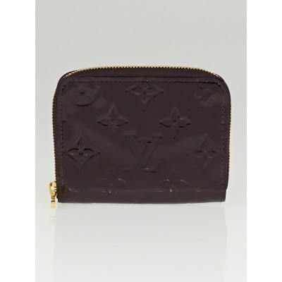 Louis Vuitton Amarante Monogram Vernis Zippy Coin Purse