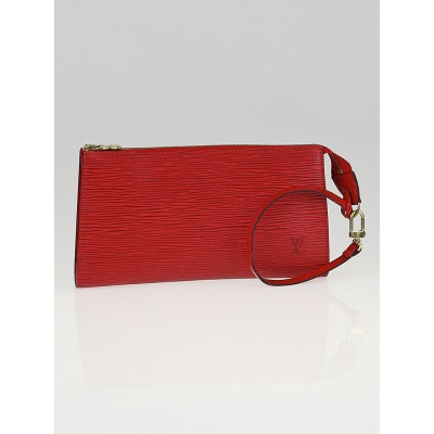 Louis Vuitton Red Epi Leather Accessories Pochette 21 Bag