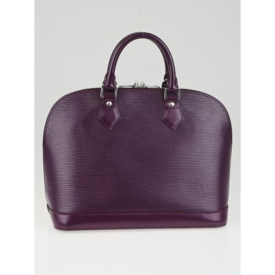 Louis Vuitton Cassis Epi Leather Alma PM Bag