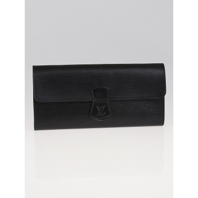 Louis Vuitton Black Epi Leather Rouleau Bijoux Jewelry Case