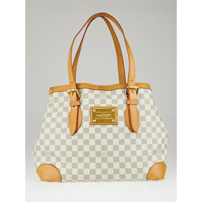 Louis Vuitton Damier Azur Canvas Hampstead MM Bag