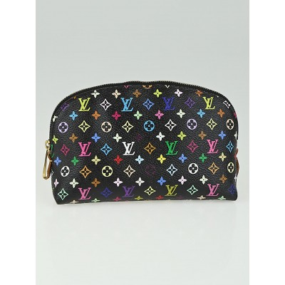 Louis Vuitton Black Monogram Multicolore Grenade Cosmetic Pouch
