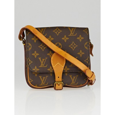 Louis Vuitton Monogram Canvas Cartouchiere PM Bag