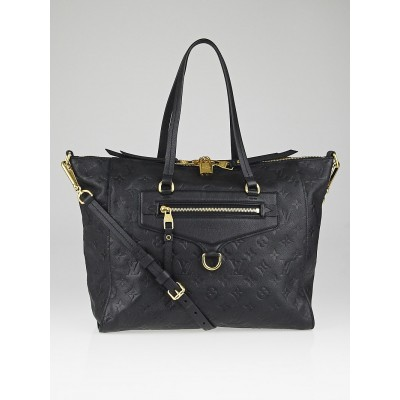 Louis Vuitton Black Empreinte Leather Lumineuse PM Bag