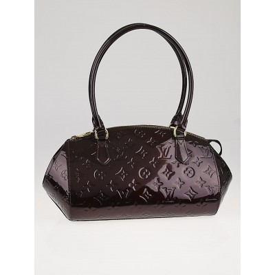 Louis Vuitton Amarante Monogram Vernis Sherwood PM Bag