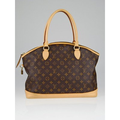 Louis Vuitton Monogram Canvas Lockit Horizontal Bag