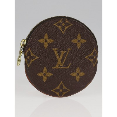Louis Vuitton Monogram Canvas Round Coin Purse