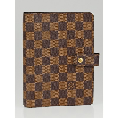 Louis Vuitton Damier Canvas Medium Ring Agenda/Notebook