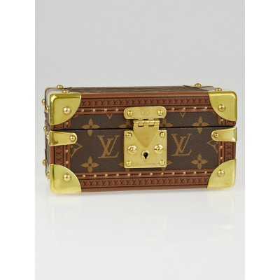 Louis Vuitton Monogram Canvas Coffret Tresor 20 Jewelry Box