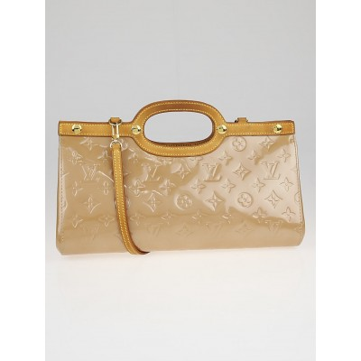 Louis Vuitton Noisette Monogram Vernis Roxbury Drive Bag