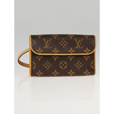 Louis Vuitton Monogram Canvas Florentine Pochette Bag