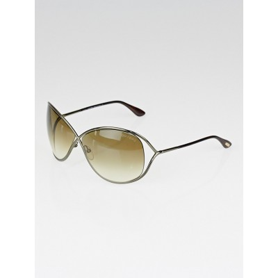 Tom Ford Tortoise Shell Frame Gradient Tint Miranda Sunglasses
