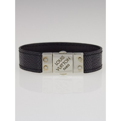 Louis Vuitton Damier Graphite Canvas Check It Bracelet