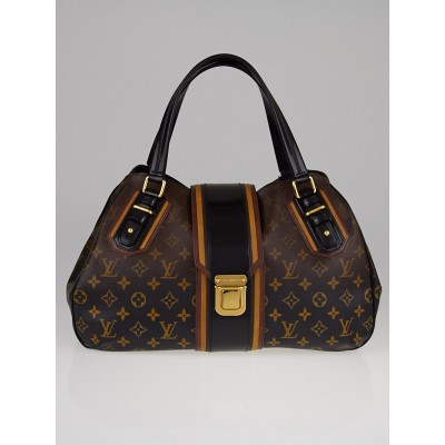 Louis Vuitton Limited Edition Noir Monogram Mirage Griet Bag