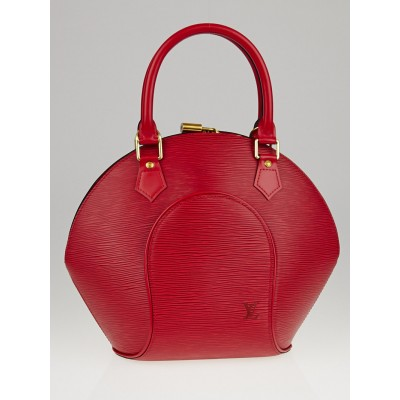 Louis Vuitton Made-to-Order Rouge Epi Leather Ellipse PM Bag