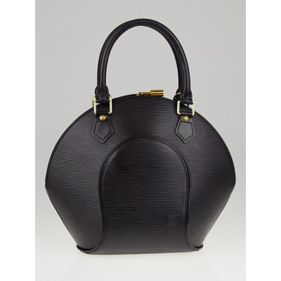 Louis Vuitton Made-to-Order Black Epi Leather Ellipse PM Bag
