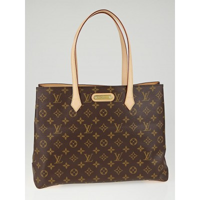 Louis Vuitton Monogram Canvas Wilshire MM Bag