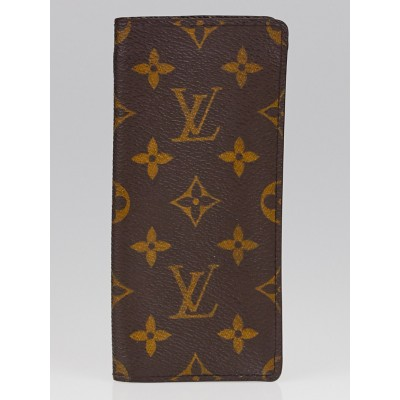 Louis Vuitton Monogram Canvas Etui Lunettes Sunglasses Case