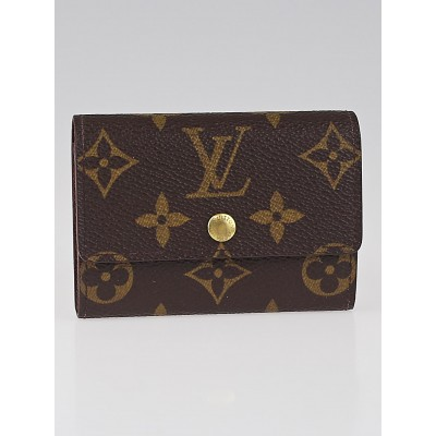 Louis Vuitton Monogram Canvas Porte Monnaie Plat