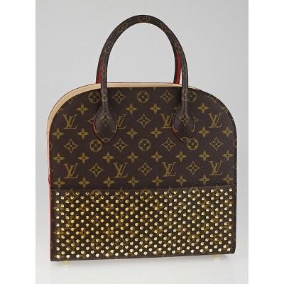 Louis Vuitton Limited Edition Celebrating Monogram Christian Louboutin Shopping Bag