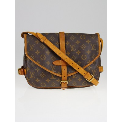 Louis Vuitton Monogram Canvas Saumur MM Bag